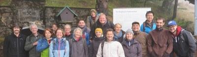 Gruppenbild Professur für Bodenökologie